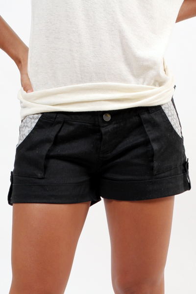 Ladies' Herringbone Shorts